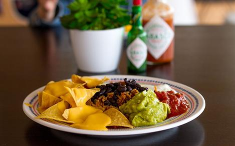 Fresh nachos from El Loco Fresh Mexican Cuisine onboard Royal Caribbean cruises