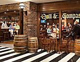 Quill & compass, pub, promenade, bar,  radiance of the seas, RD, guitar player, entertainment, onboard activity, lounge, bartender, revitalization, english pub