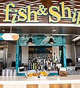 Independence of the Seas Fish and Chips Bar