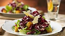 Romaine lettuce tossed with radicchio, herb croutons and cheese. Cruise fine dining at Giovanni's Table Italian restaurant.