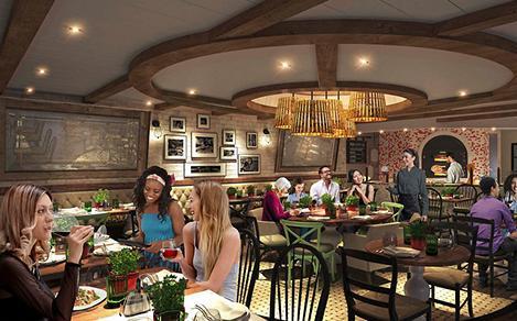 Giovanni's Table Interior Dining Area