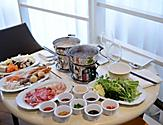 Solarium Bistro Dipping Sauces and Food