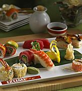 Izumi, Restaurant, Food and Beverage, Dining, Japanese Food and Beverage, sushi, Assorted Rolls