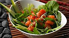 Izumi, Restaurant, Food and Beverage, Dining, Japanese Food and Beverage, sushi, Salmon Salad with Watercress