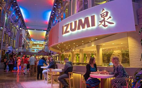 Adventure of the Seas Izumi at the Promenade