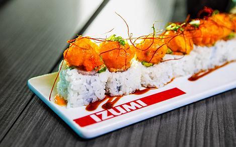 Izumi Sushi Specialty Roll