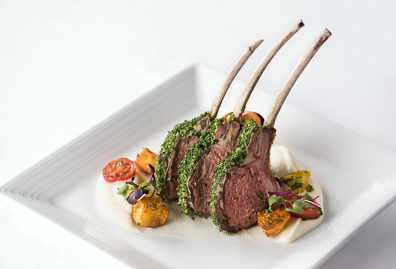 Lamb Rib Dish at the Main Dining Room