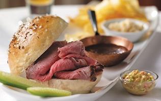Park Cafe's Kummelweck Sandwich