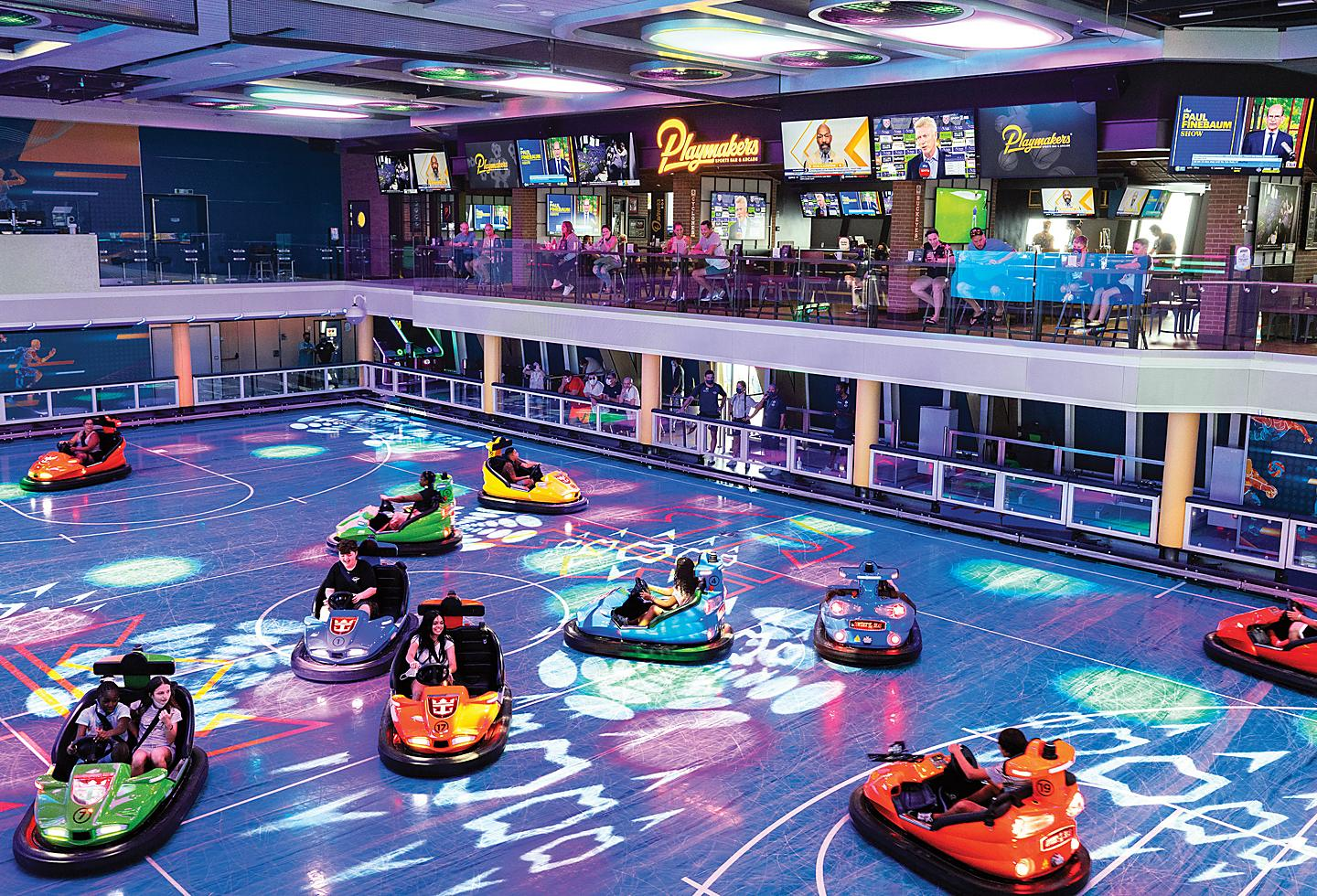 Seaplex with bumper cars and Playmakers