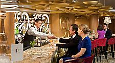 GR, R Bar, , Grandeur of the Seas,Public Spaces, Revitalization, Lounge, Couple Having Drinks,