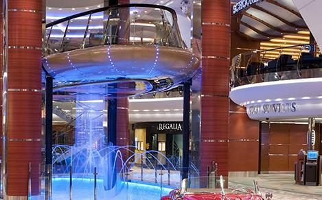 Allure of the seas, Rising Tides, Bar,Lounge,