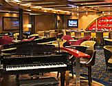 QN, Quantum of the Seas, public spaces, Schooner Bar, piano, entertainment, lounge, dining, drinks