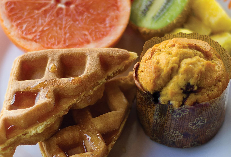 Solarium Bistro Buffet Style Breakfast