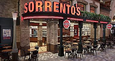Sorrento's restaurant is located aboard Royal Caribbean cruise ship providing delicious Pizza, Italian Food and Beverages.