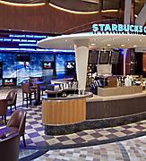 Allure of the Seas, Starbucks, Coffee,   cappuccino,