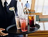 Cruise vacation casual dining at the Windjammer Buffet. Fresh food made daily and tasty beverages. Best Cruise Line Dining.