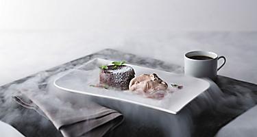 QN Culinary, specialty dining, Nitro chocolate, Wonderland, culinary, cuisine
