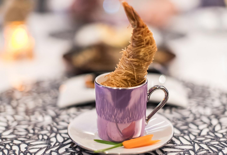 Wonderland shrimp dish