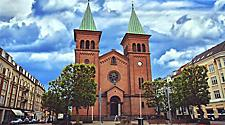 St. Pauls Church in Aarhus, Denmark