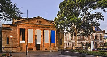The Art Gallery of South Australia in Adelaide