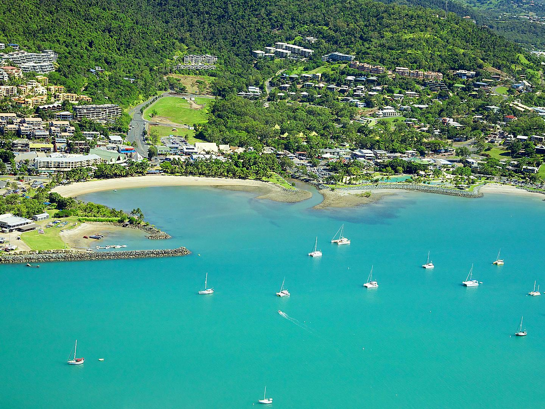 Airlie Beach, Queensland, Australia, Aerial Landscape