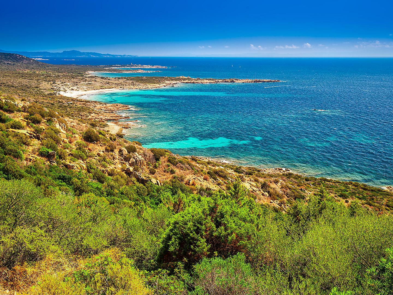 Ajaccio, Corsica Picturesque Coastal View