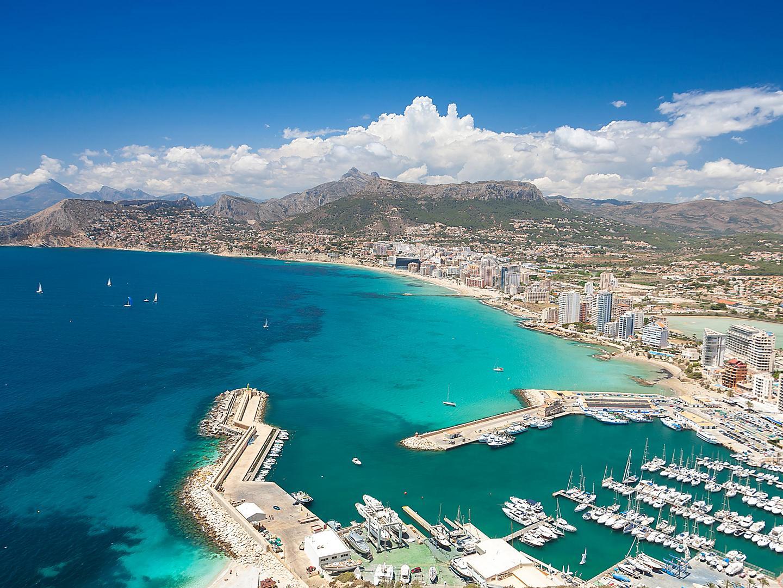Alicante,Spain, Aerial View