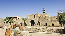 Aqaba Mamluk fort in Aqaba, Jordan, Middle East