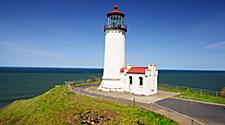 The North Head lighthouse near Astoria, Oregon