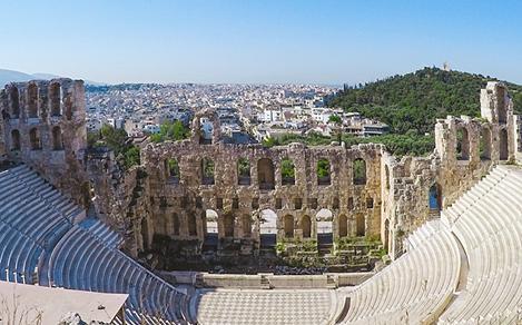 Athens Cape Sounion Ancient Temple Ruins