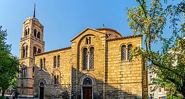 The Agia Triada church in Greece