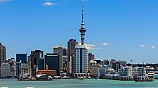 View of the Auckland, New Zealand cityscape