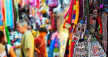 Chatuchak market, largest market in Thailand, in Bangkok
