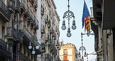 La Rambla Historic Buildings