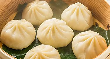 Xiao Long Bao Steamed Buns Cuisine in Beijing, China