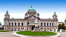 The city hall building in Belfast, Northern Ireland