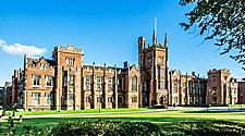 A beautiful view of Queens University of Belfast