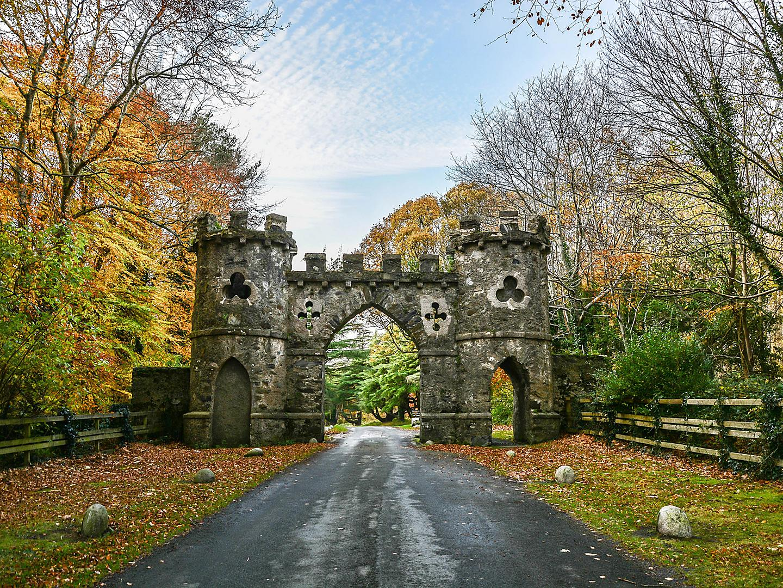 Belfast, Northern Ireland Tollymore Park Gate