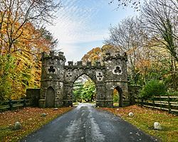 The Tollymore Park Gate in Belfast, Northern Ireland
