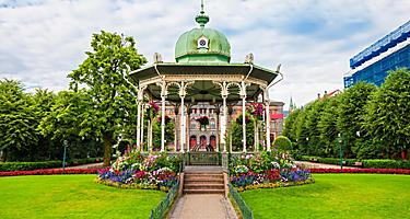 A park pavilion in Bergen, Norway