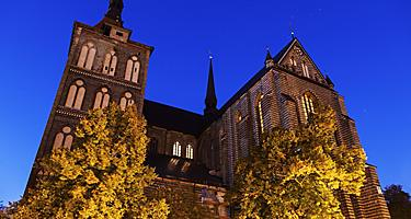 St. Mary's church in Rostock, Germany