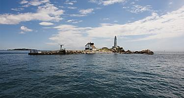 boston massachusetts light little brewster island harbor national park
