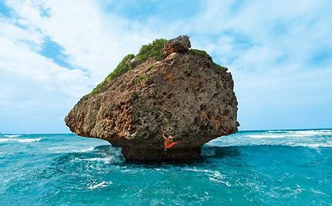 Bridgetown Barbados Bathsheba Beach Rock Climbing