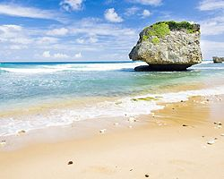 Bridgetown Barbados Bathseba Beach Rock Formation