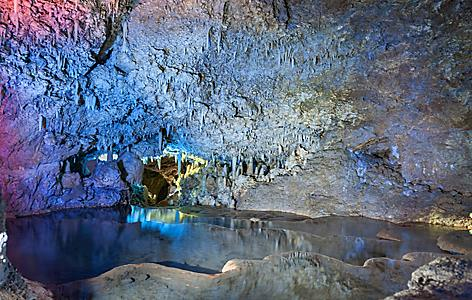 Bridgetown Barbados Harrison Cave Colorful