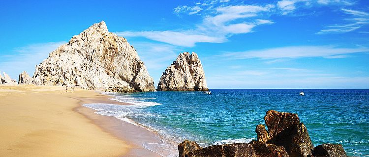 Lovers Beach in Cabo San Lucas, Mexico