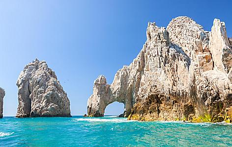 The fanous arch in Cabo San Lucas, Mexico