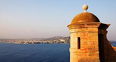 A sentinel tower at Saint Marguerite island