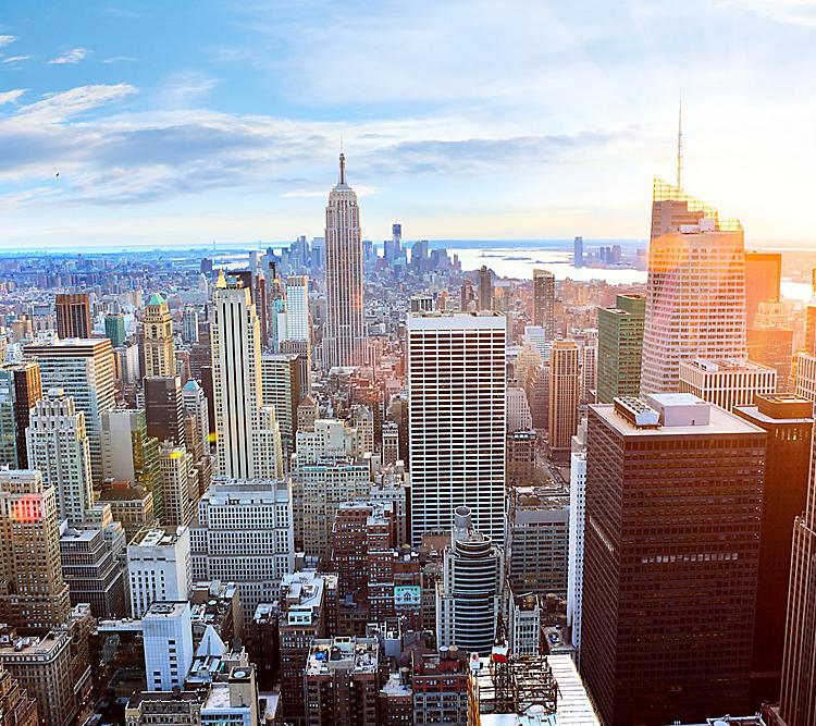 New York City Skyline Hero