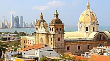 Church of St. Peter Claver in Cartagena, Colombia